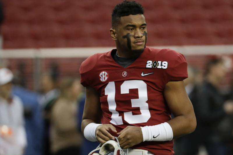 All Eyes On Tagovailoa As The Premier College QB