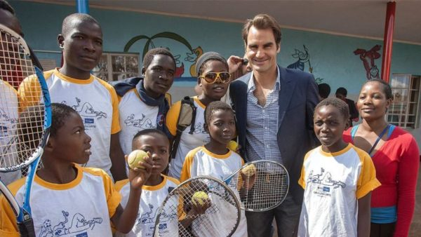 Federer Wins On & Off The Court With His Passion To Help Others