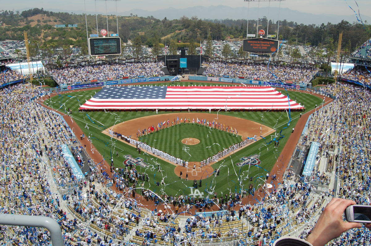 Opening Day Dodger Stadium Opening Day
